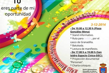 Granadilla conmemora el 'Día Internacional de las Personas con Discapacidad'