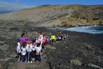 Los escolares del municipio hacen de guías turísticos