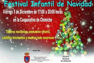 Festival Infantil de Navidad en Chimiche