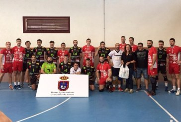 Partido 'solidario' del Voleibol Playas de El Médano