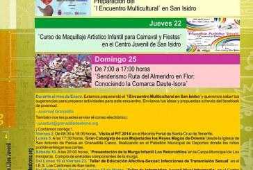 Actividades 'Agenda Joven' Enero 2015