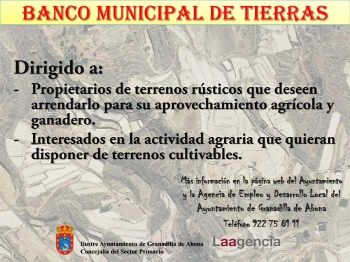 El Banco de Tierras Municipal, un éxito según Esteban González