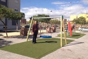 La Jurada cuenta con un moderno Parque Infantil