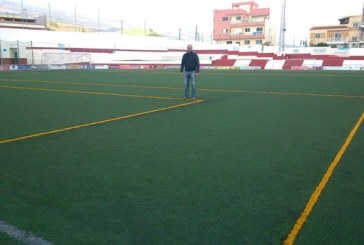Señalización de fútbol siete del campo de fútbol Francisco Suárez