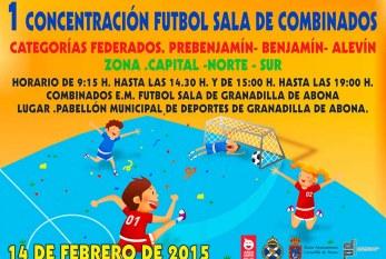 La '1ª Concentración Fútbol Sala de Combinados'