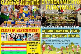 Actividades deportivas varias para tod@s l@s ciudadan@s