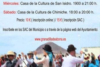 'Clases de Baile Folklórico' en diferentes zonas del municipio