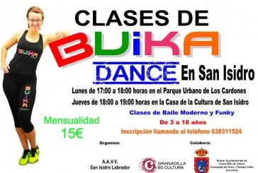 Clases de 'Buika Dance' en San Isidro