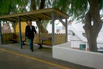 Nuevas zonas de descanso y áreas verdes en Los Abrigos