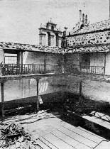 Patio del Convento abandonado años 80