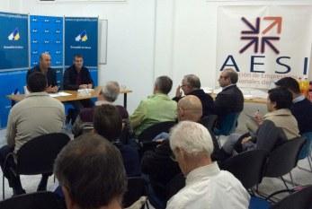 Fernando Clavijo y José Domingo Regalado se reunieron con las asociaciones empresariales del municipio