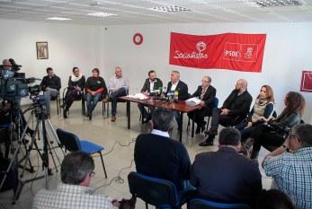 Explicaciones del PSOE sobre el procedimiento judicial que se sigue contra algunos de sus miembros