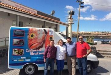 Nuevo 'servicio de reparto' de la Lonja Pesquera de Los Abrigos