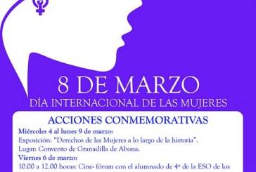 Actos municipales conmemorativos del 'Día Internacional de las Mujeres'