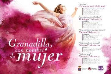 La propuesta 'Granadilla, con nombre de mujer', durante el mes de marzo