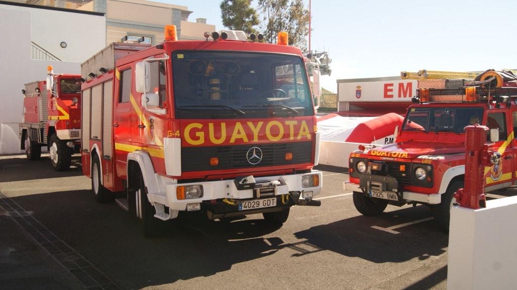 Bomberos 'Guayota', con 289 acciones realizadas el pasado año cuenta con un nuevo campo de entrenamiento