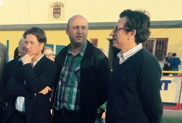 José Domingo Regalado propone un campo de fútbol anexo al de La Palmera para descongestionar el actual