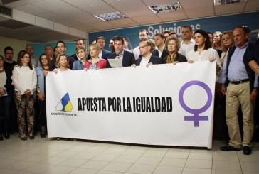 Manifiesto de Coalición Canaria con motivo del 'Día Internacional de las Mujeres'