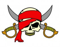Símbolo 'pirata'
