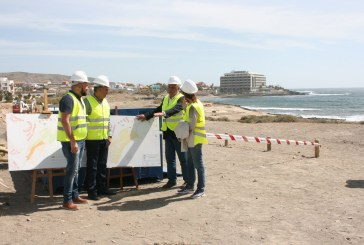 Obras de mejora en la Playa de La Jaquita