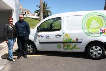 Sermugran adquiere un vehículo eléctrico para el SAC