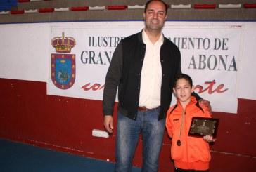 David Delgado Hernández, medalla de bronce del Campeonato de España de taekwondo