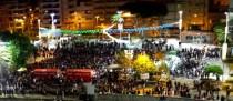 Fin de Año en la plaza de El Médano