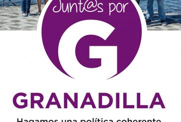 Vicente Usó Ruiz, candidato a la Alcaldía de 'Junt@s por Granadilla' y su 'equipo'