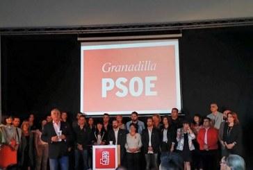 Presentación de la candidatura del PSOE para las elecciones municipales