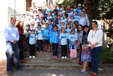La historia y el patrimonio cultural del municipio se da a conocer a l@s más pequeñ@s