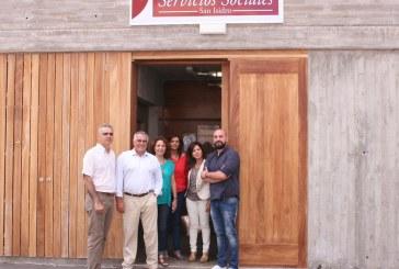 La nueva Unidad de Trabajo Social de San Isidro atenderá al 67% de l@s usuari@s del municipio