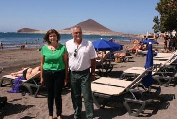 Nuevo servicio de hamacas y sombrillas en El Médano y La Tejita