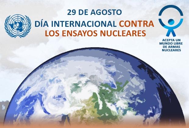 Resultado de imagen para Día Internacional contra los Ensayos Nucleares