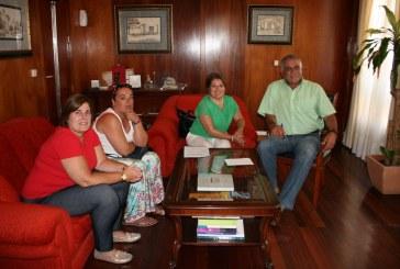 El Alcalde y la Junta Directiva del CEST se reunieron