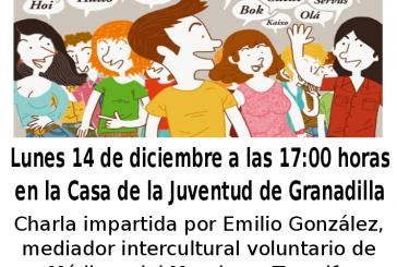 Charla-Taller de Interculturalidad en la Casa de la Juventud del Casco