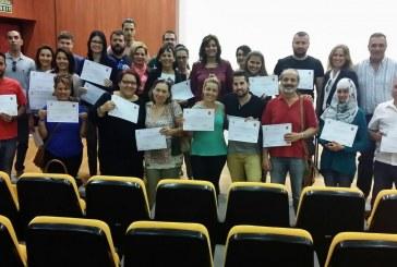 Diplomas de inglés y alemán de atención al cliente para medio centenar de desempleados