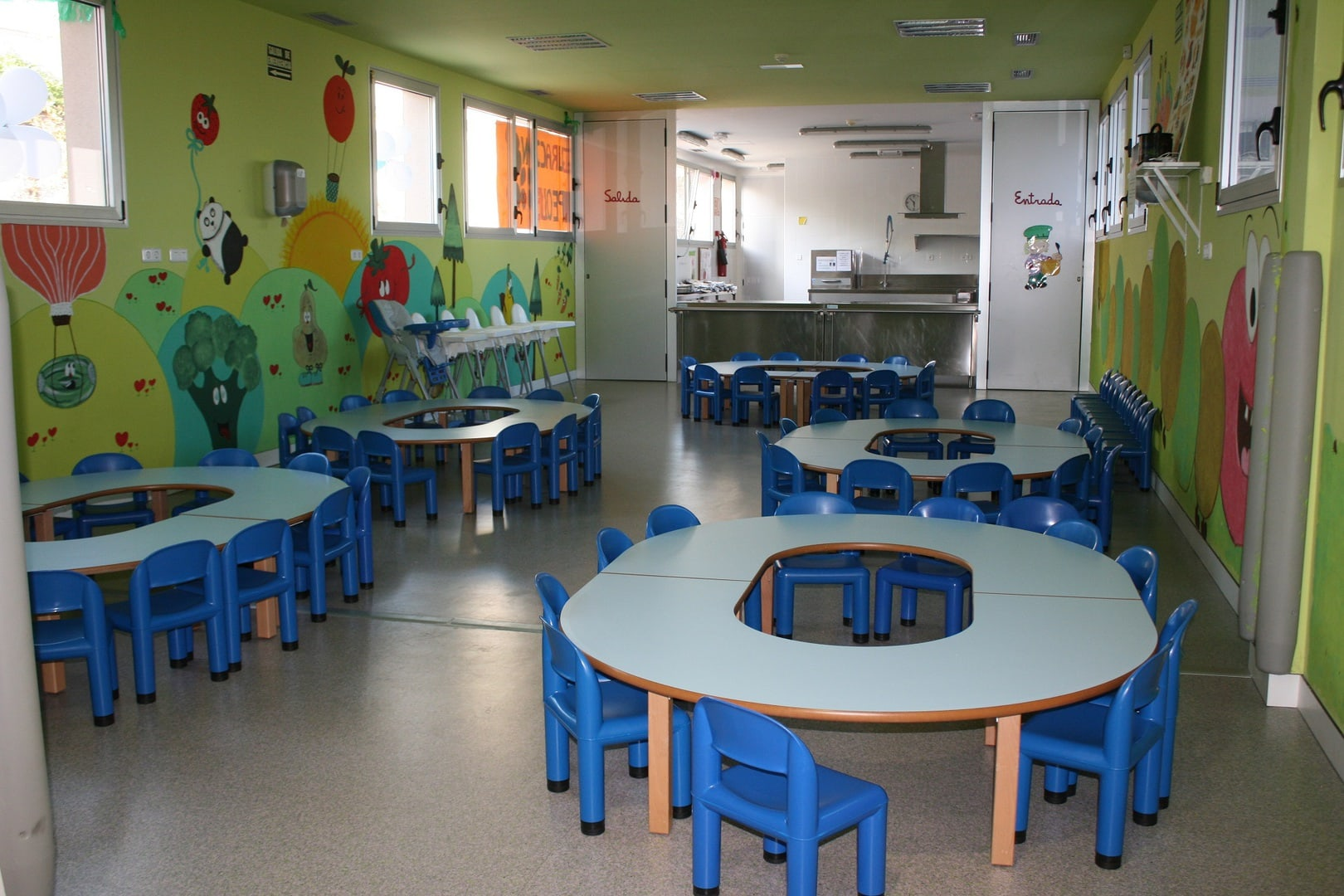 39 sanipeques 39 la escuela infantil municipal m s moderna de for Escuelas privadas de cocina