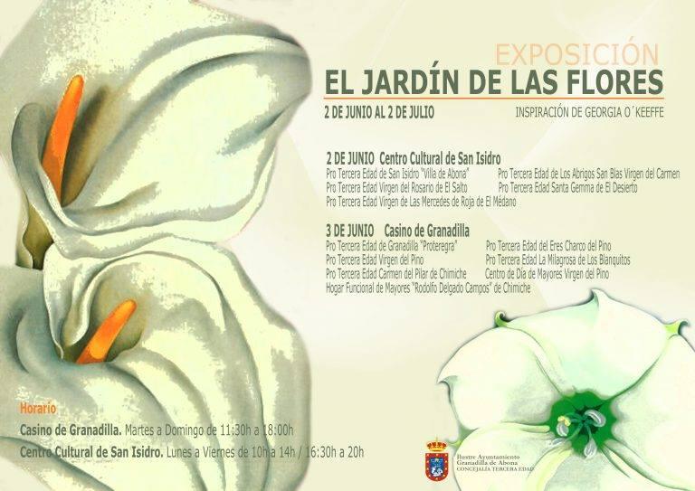 La exposición \'El Jardín de las Flores\' - La Rendija