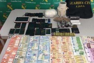 Desarticulada una red de tráfico de cocaína con conexiones en nuestro municipio