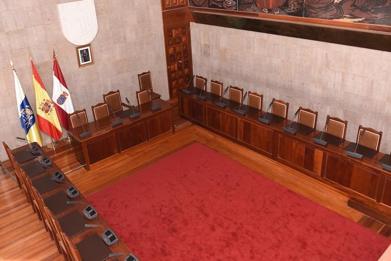 Resultado de imagen de salón de plenos ayuntamiento de granadilla de abona