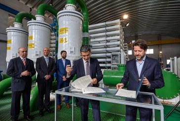 La puesta en servicio de la desaladora de Granadilla impulsará la agricultura en el Sur de Tenerife