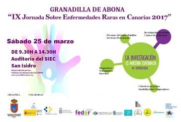 La 'IX Jornada sobre Enfermedades Raras en Canarias', este sábado en San Isidro