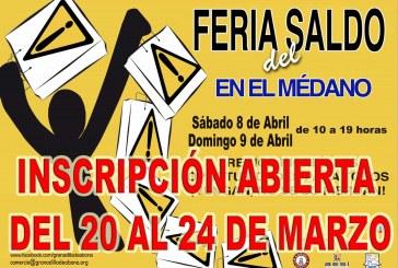 El plazo de inscripciones para la 'IX Feria del Saldo Municipal' finaliza este viernes