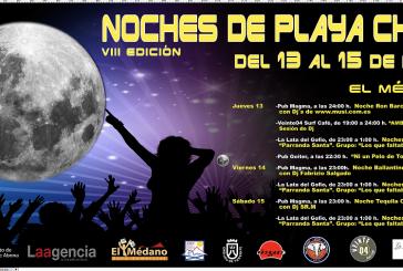 'Noches de Playa Chica', del 13 al 15 de abril en El Médano