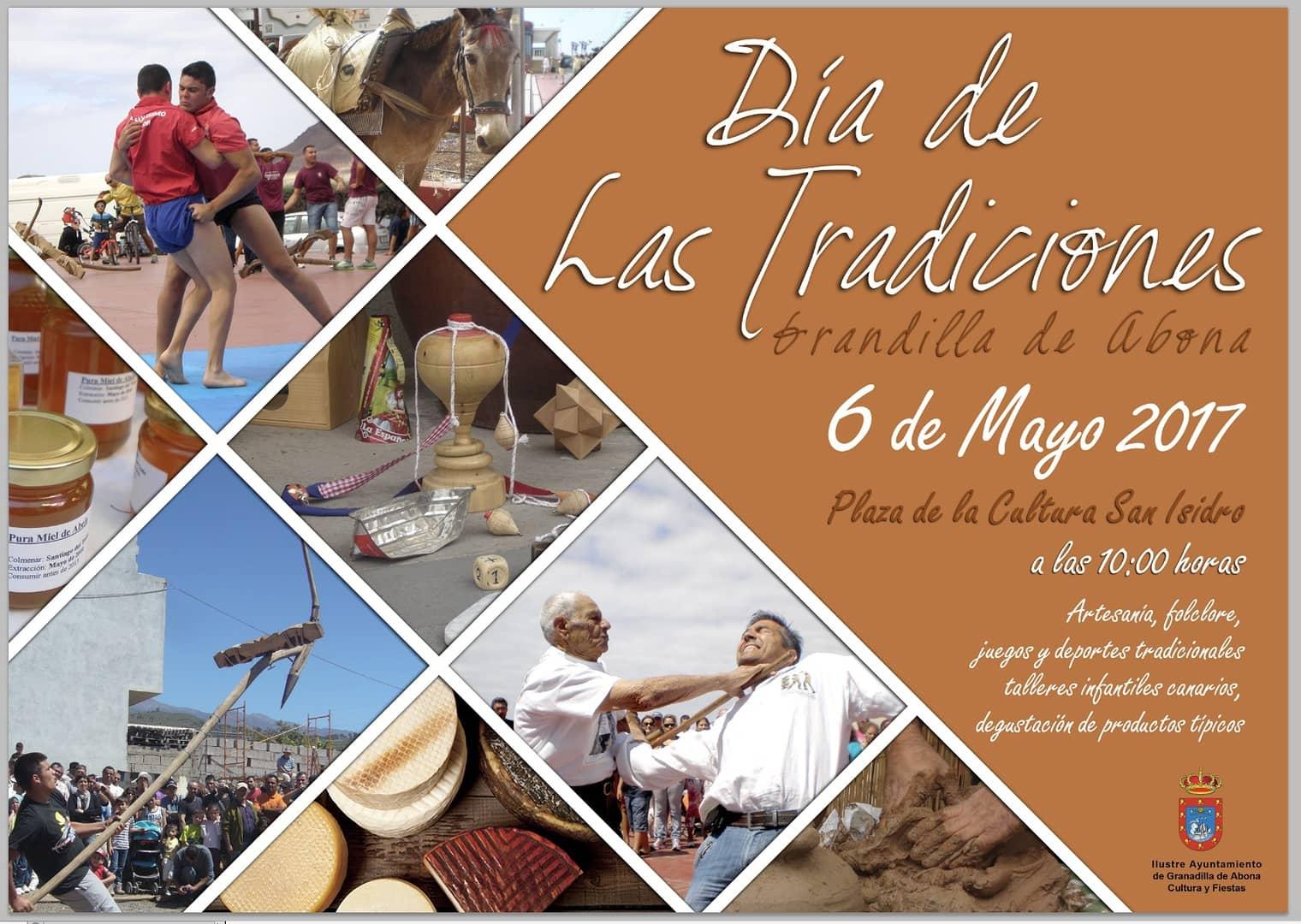 'Fiestas en honor de San Isidro Labrador' y 'Día de las Tradiciones'