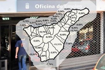Granadilla de Abona, entre los municipios de la Isla donde menos creció el empleo durante 2016