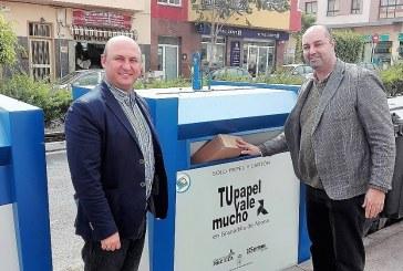 Importante ahorro económico tras haberse hecho cargo el Ayuntamiento de la recogida directa de papel y cartón