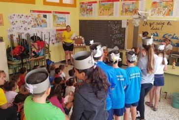 Un total de 260 niñ@s participan en el Campamento de Verano 2017