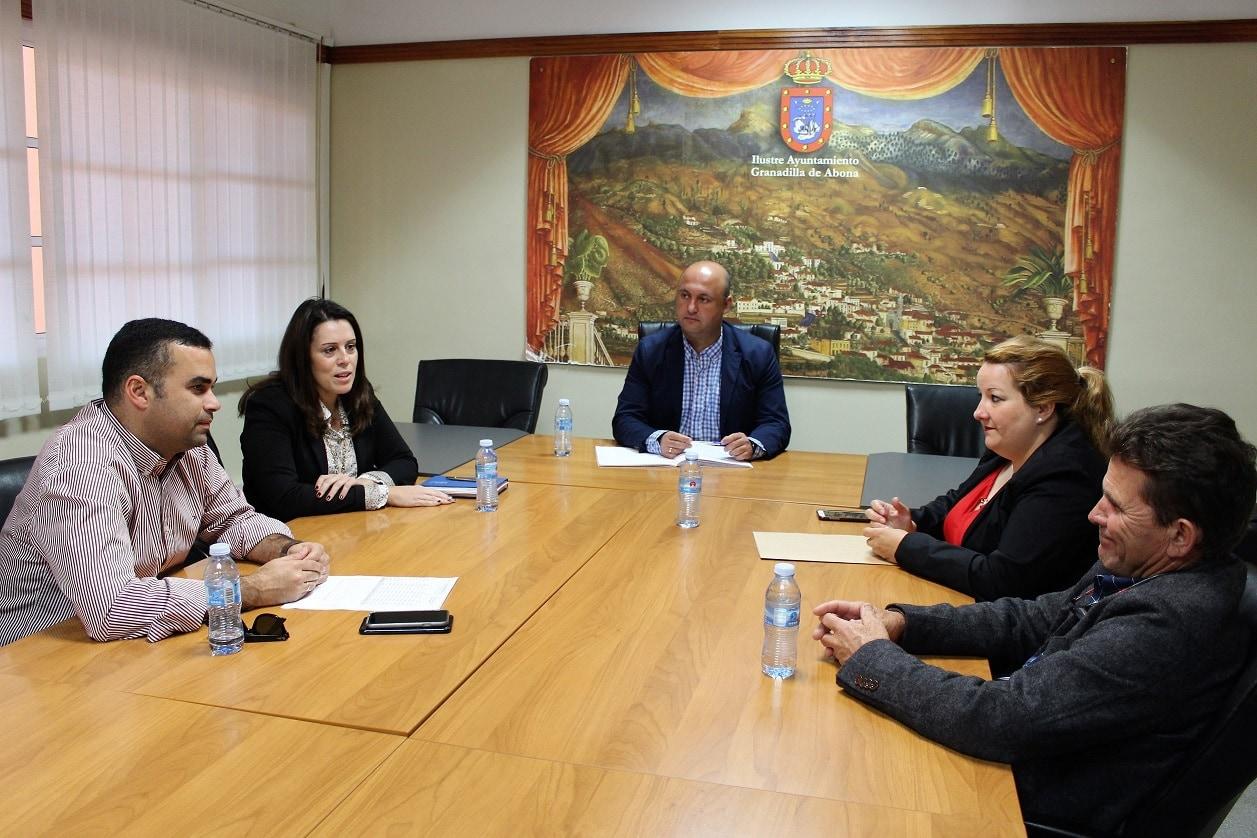 Las visitas del viceconsejero del Sector Primario del Gobierno de Canarias al municipio