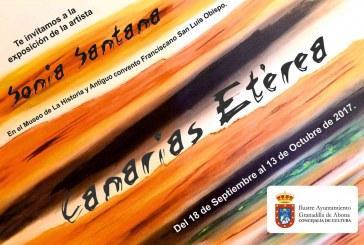 La exposición 'Canarias Etérea', de Sonia Santana Cabello, hasta el 13 de octubre